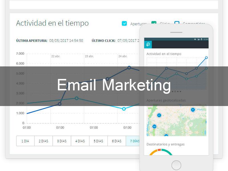 Sistemas web para Email Marketing