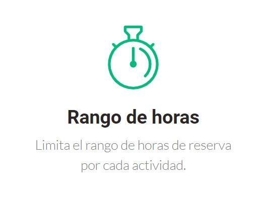 rango de horas